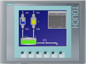 HMI Siemens SIMATIC KTP600 BASIC COLOR PN, 6AV6647-0AD11-3AX0
