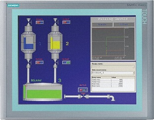 HMI Siemens  SIMATIC TP1500 BASIC COLOR PN, 6AV6647-0AG11-3AX0
